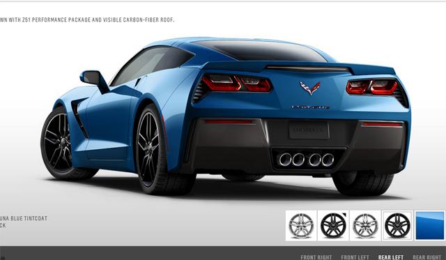 Chevrolet Launches 2014 Corvette Stingray Online Configurator