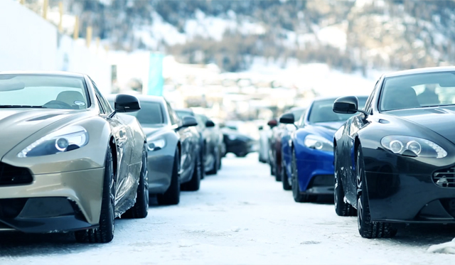 Video: Trailer for Aston Martin On Ice 2013