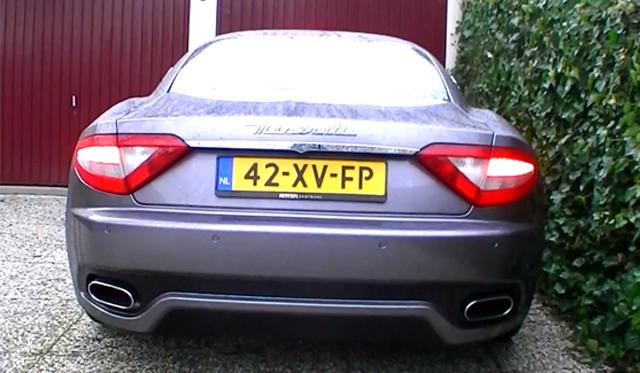 Video: Maserati GranTurismo With MC Sportline Exhaust