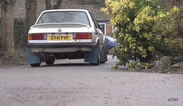 Video: Rallying in a BMW 325i With Chris Harris