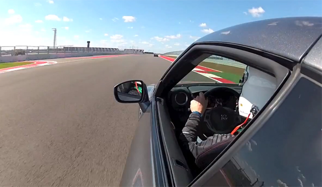 Video: Nissan GT-R Driving on Circuit of the Americas