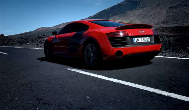 Video: Audi Releases First Promo for 542hp Audi R8 V10 Plus