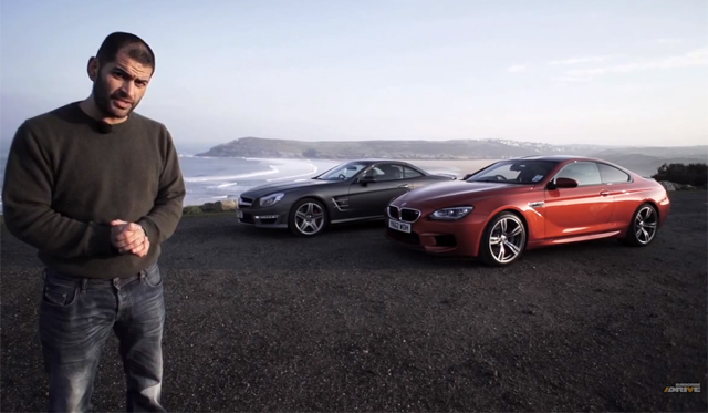 Video: Chris Harris Compared BMW M6 With SL63 AMG