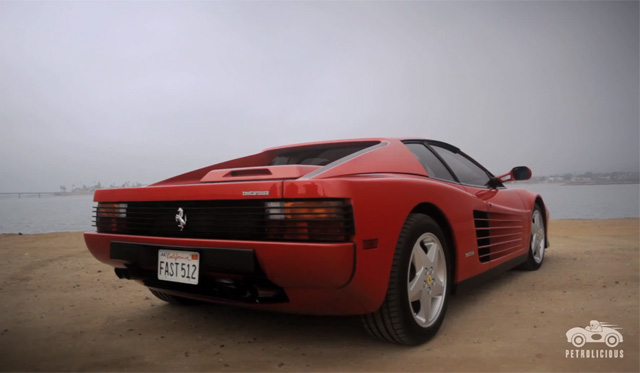 Video: Petrolicious Details the Legacy of the Ferrari Testarossa