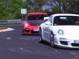 Video: Porsche GT3 RS 4.0 and GT2 RS on the Nurburgring