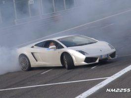 Video: Lamborghini Gallardo LP560-4 Doing Donuts at Monza
