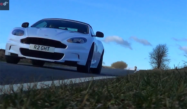 Video: Ear-piercingly Loud Aston Martin DBS Volante