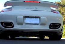Porsche 911 Turbo With SharkWerks Exhaust System