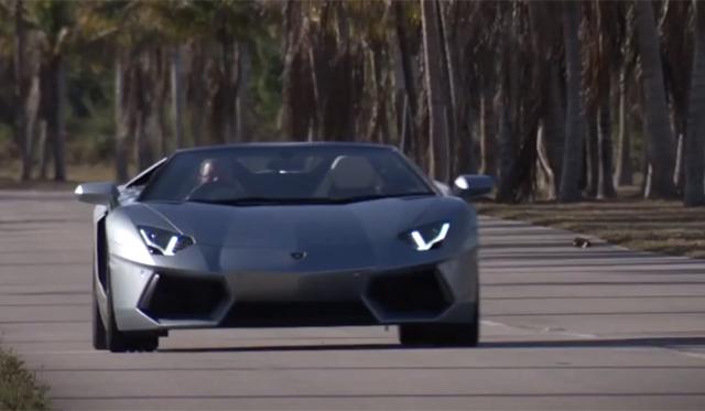 Video: Autocar Drives the Lamborghini Aventador Roadster