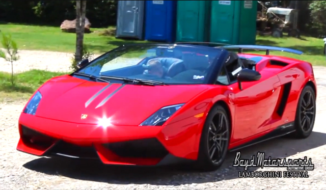 Video: Lamborghini Festival in Cypress, Texas