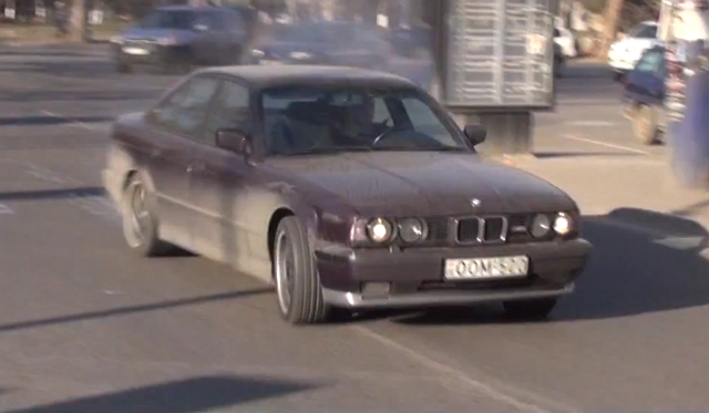 Video: Crazy Georgian BMW M5 Drifter Returns in Part II