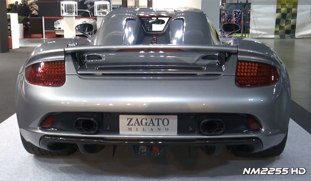 Video: One-off Porsche Carrera GT by Zagato