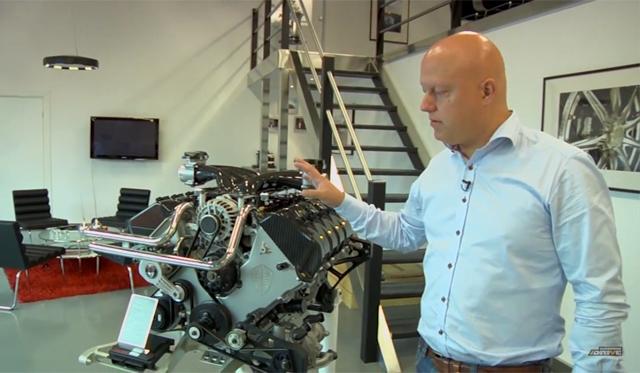Video: The 1140hp Heart of a Koenigsegg Agera R