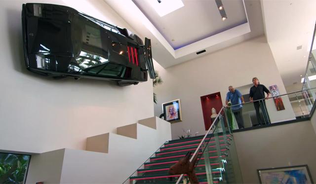 Video: Newport Beach Mansion With Lamborghini Countach Wall-art