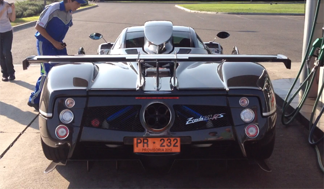 Video: One-off Pagani Zonda 760 RS Spotted in Chile