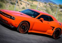 Widebody Dodge Challenger with Disegno Forgiato Wheels