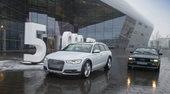 Audi Celebrates Creating 5 Million Quattro Drive Systems