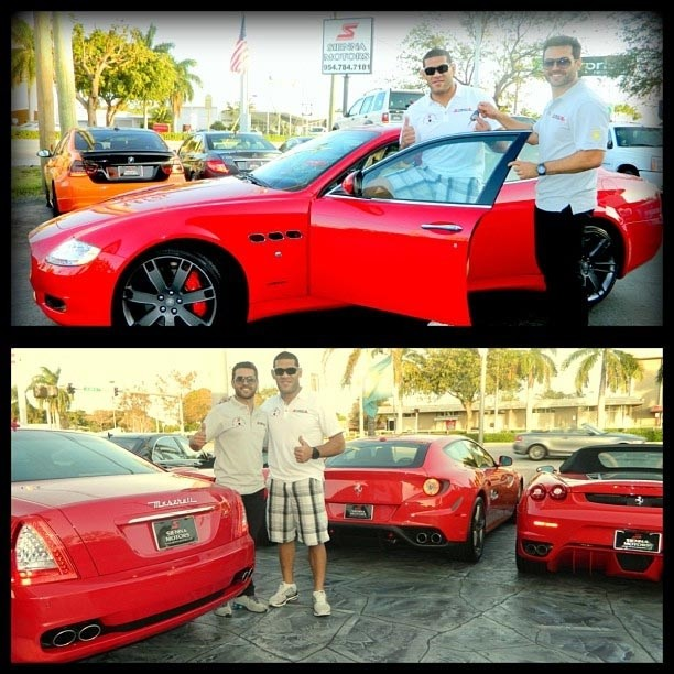UFC Fighter Antonio Silva Awarded 2013 Maserati Quattroporte