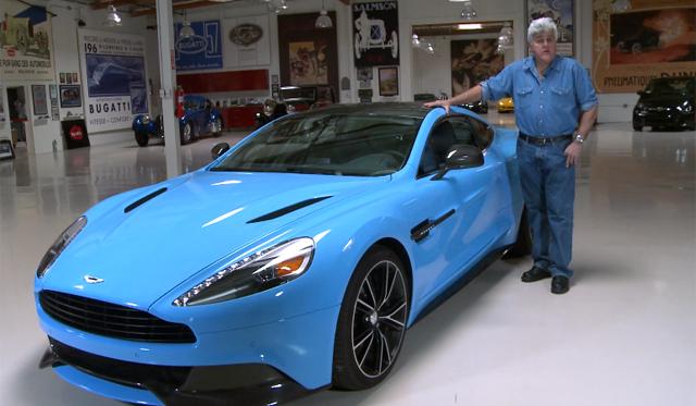 Video: 2013 Aston Martin Vanquish Visits Jay Leno's Garage