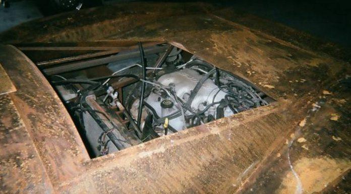 Overkill: Ferrari Enzo Replica Made From Steel on Craigslist