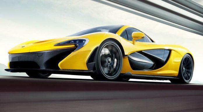McLaren P1 Front Side