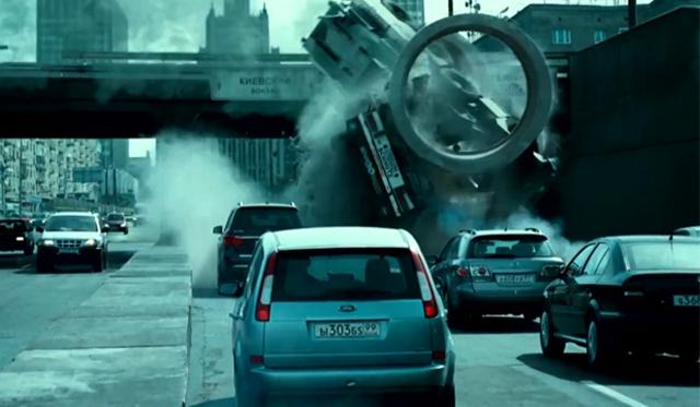 New Die Hard Film Demolished 132 Cars in one Chase Scene