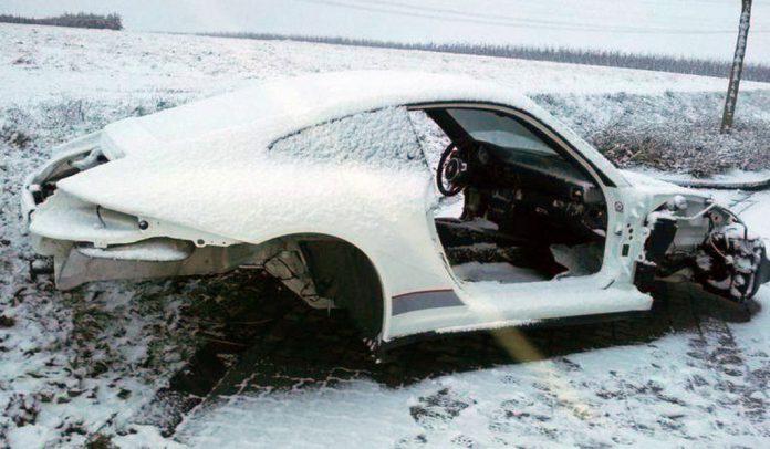 Stolen Porsche 911 GT3 RS 4.0 Found Scrapped in Germany