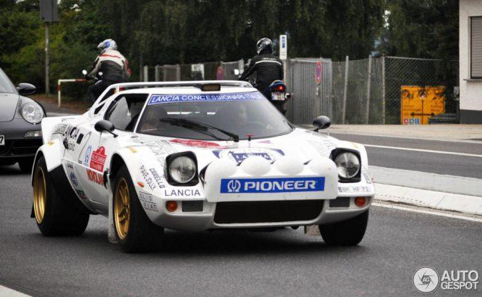 Rare Lancia Stratos HF Captured at Nurburgring