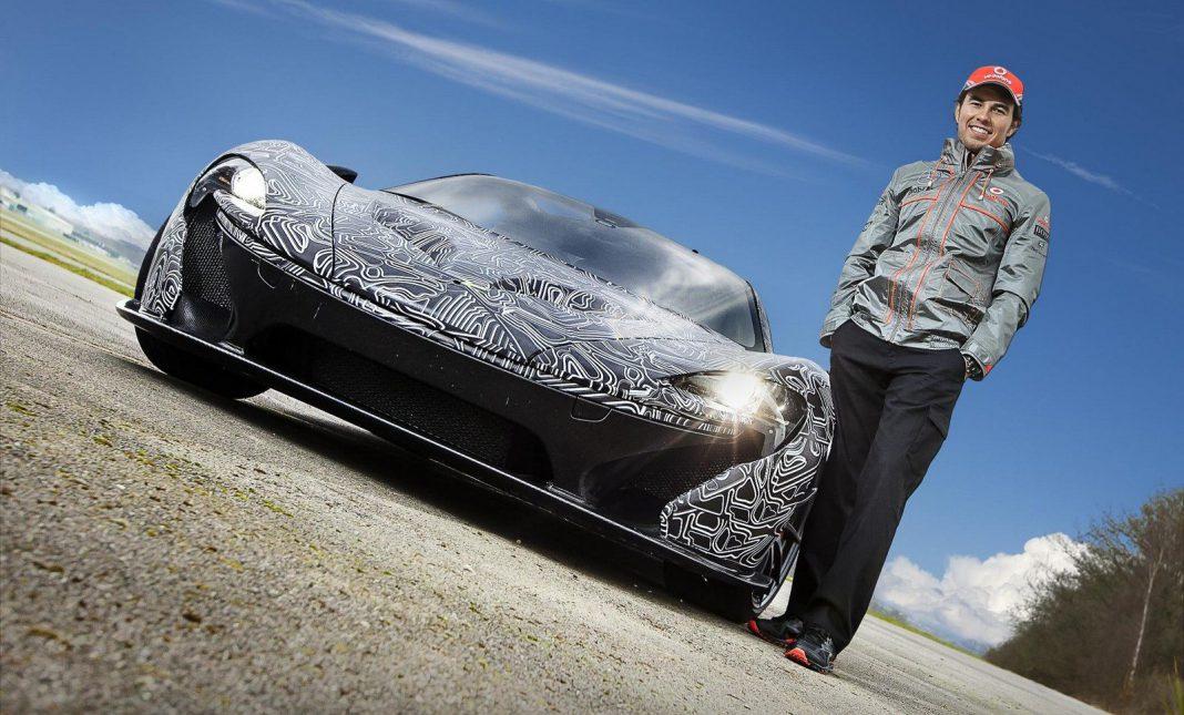 Vodafone McLaren Mercedes Driver Sergio 'Checo' Perez