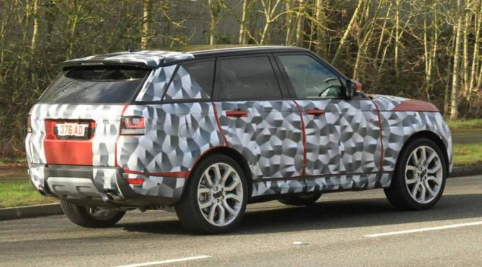 Spyshots: Updated Range Rover Sport