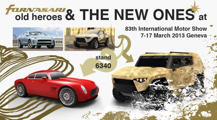 Fornasari Previews new Models Heading to 2013 Geneva Motor Show