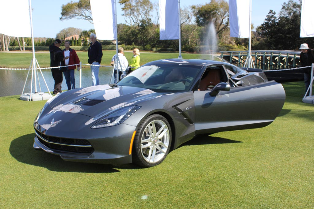 2014 Corvette Stingray at the Amelia Island Concours D'Elegance
