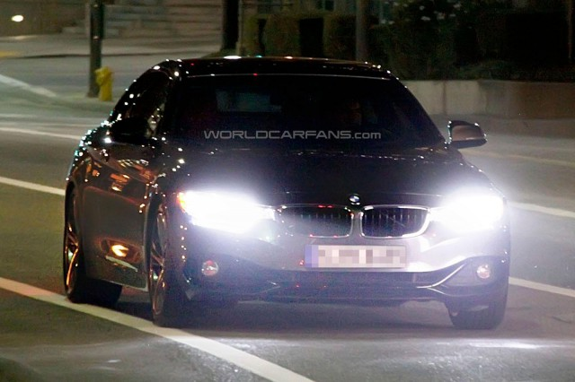 Undisguised 2014 BMW 435i Spied in New York