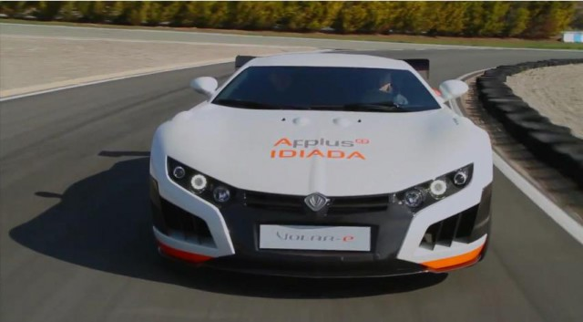 Video: 2013 Applus+Idiada Volar-E Debuts in Spain