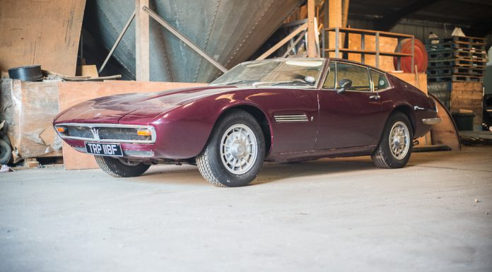 1968 Maserati Ghibli Barn Find Heading to Silverstone Auctions