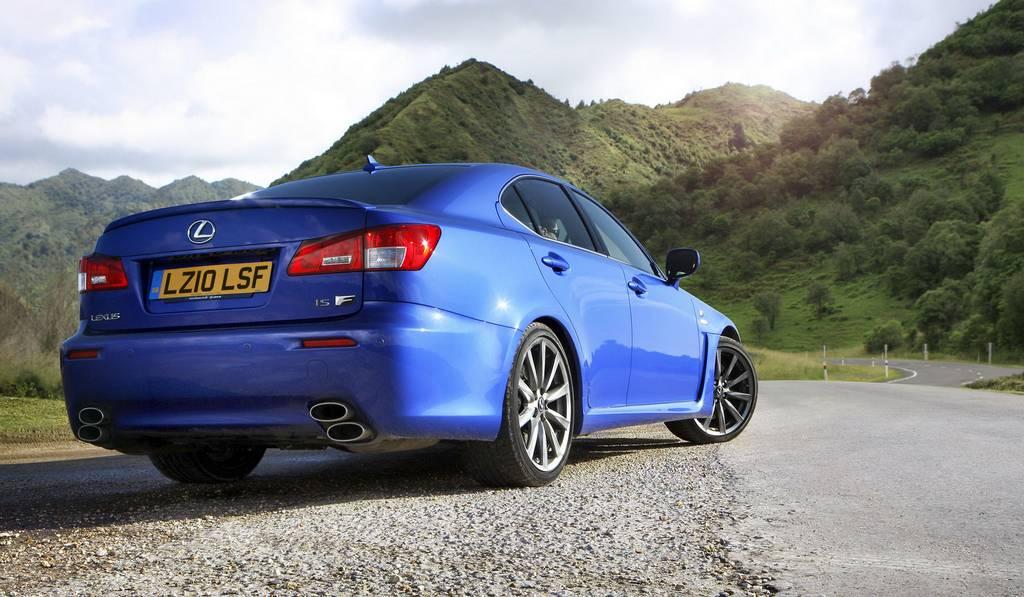 Lexus to Drop Lexus IS-F Sports Sedan
