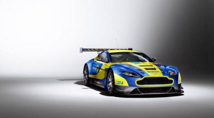 Official: 2013 Aston Martin V12 Vantage GT3 Bilstein