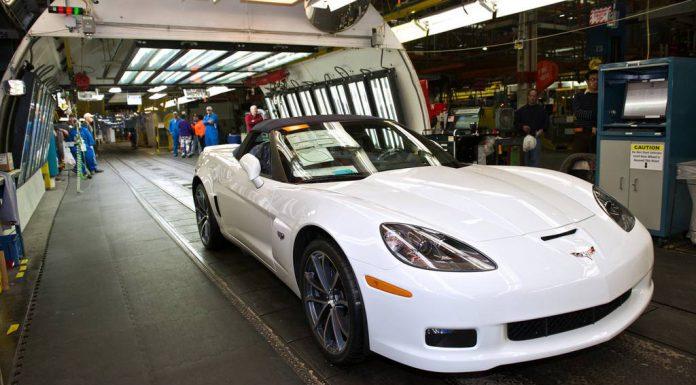 Final Chevrolet Corvette C6 Rolls off the Production Line