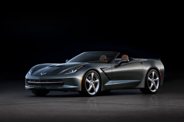 Official Photos of the 2014 Chevrolet Corvette Stingray Convertible Released