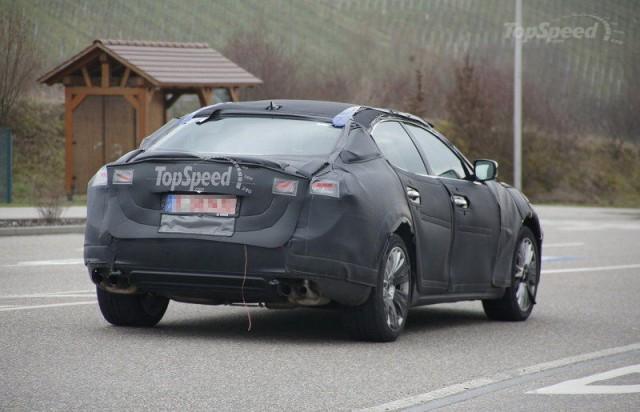 Spyshots: 2015 Maserati Ghibli Snapped Testing yet Again