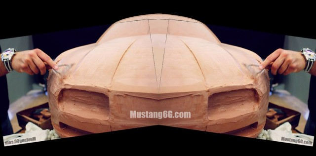 2015 Ford Mustang Previewed in Clay Form