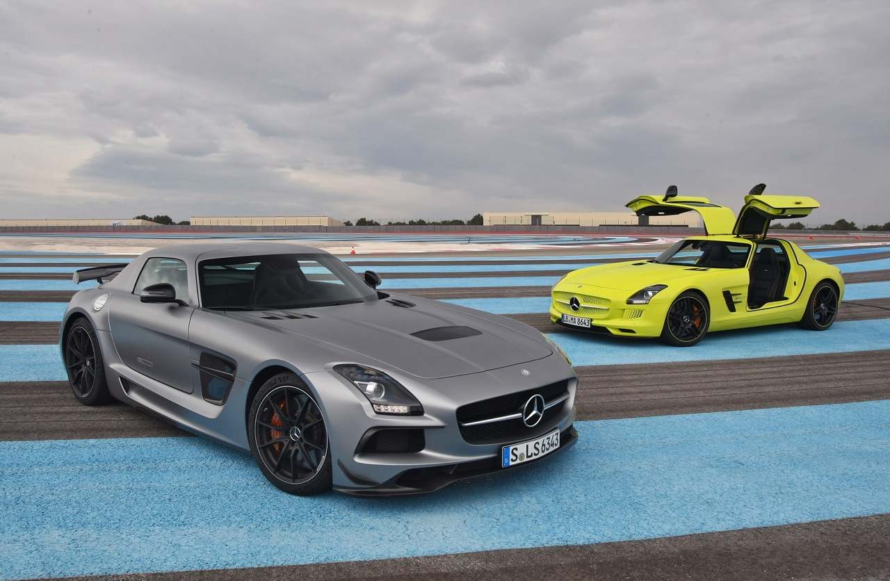 mercedes benz sls amg black series. mercedesbenz sls ecell and amg black series at paul ricard circuit mercedes benz sls amg a