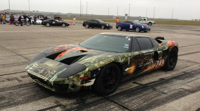 Hennessey Ford GT100 TT Sets new Texas Mile Record at 267.6mph