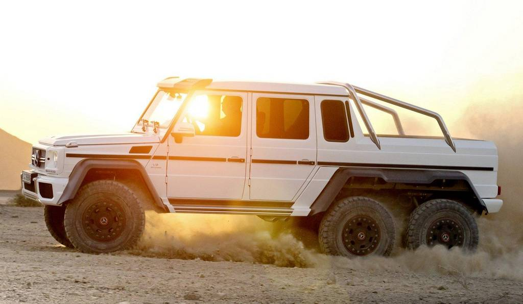 Official: 2013 Mercedes-Benz G63 AMG 6x6