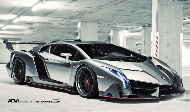 Render: Lamborghini Veneno With ADV.1 Wheels