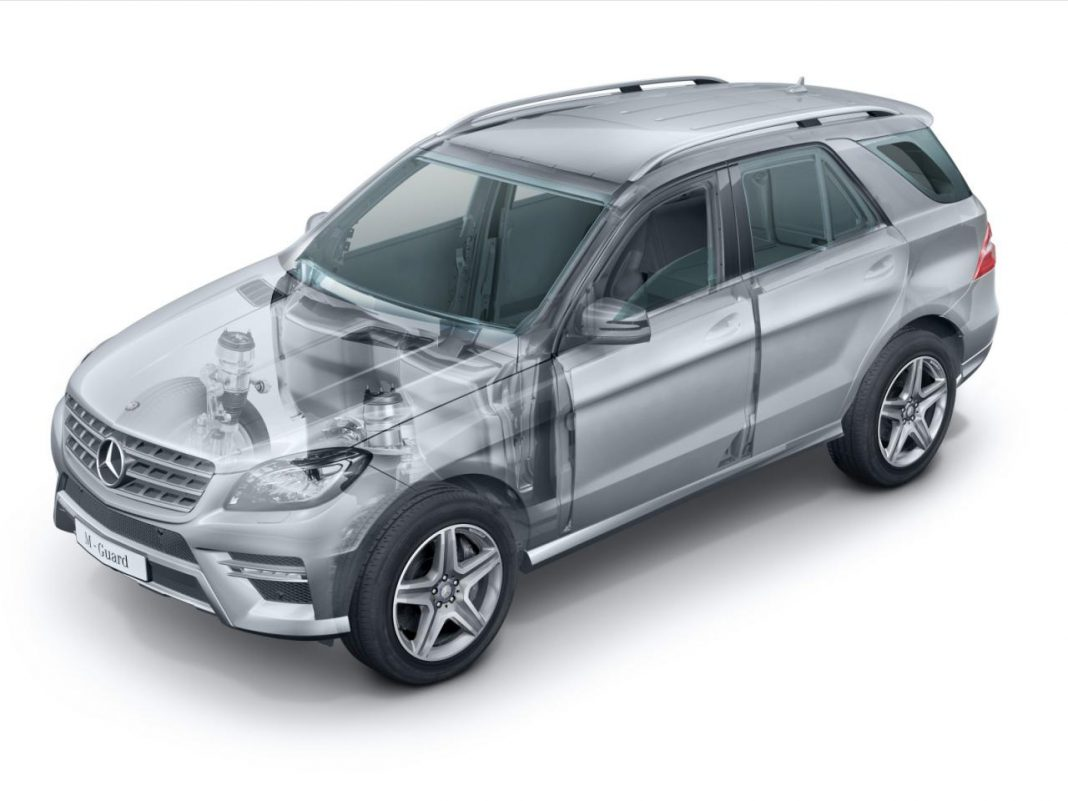 Mercedes to Introduce Guard Variant for ML350 BlueTec and ML500