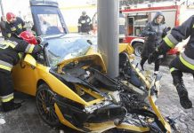 Car Crash: Lamborghini Gallardo Superleggera Destroyed in Poland
