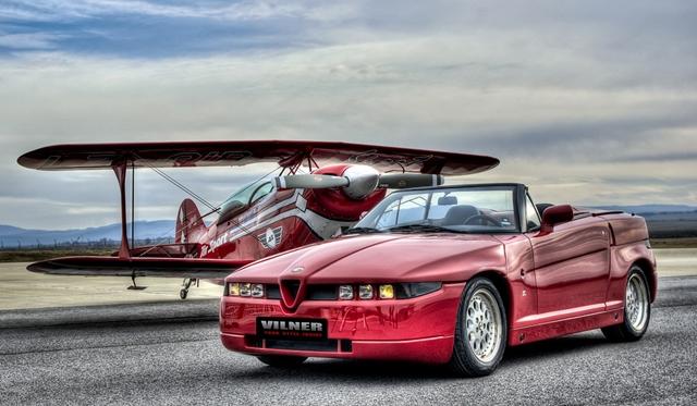 Vilner Resurrects Alfa Romeo Zagato Roadster