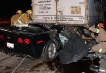 Car Crash: Driver Survives Horrific Corvette Z06 Accident