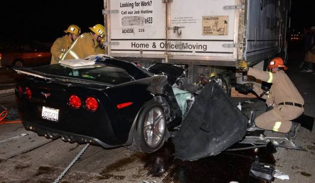 Car Crash: Driver Survives Horrific Corvette Z06 Accident